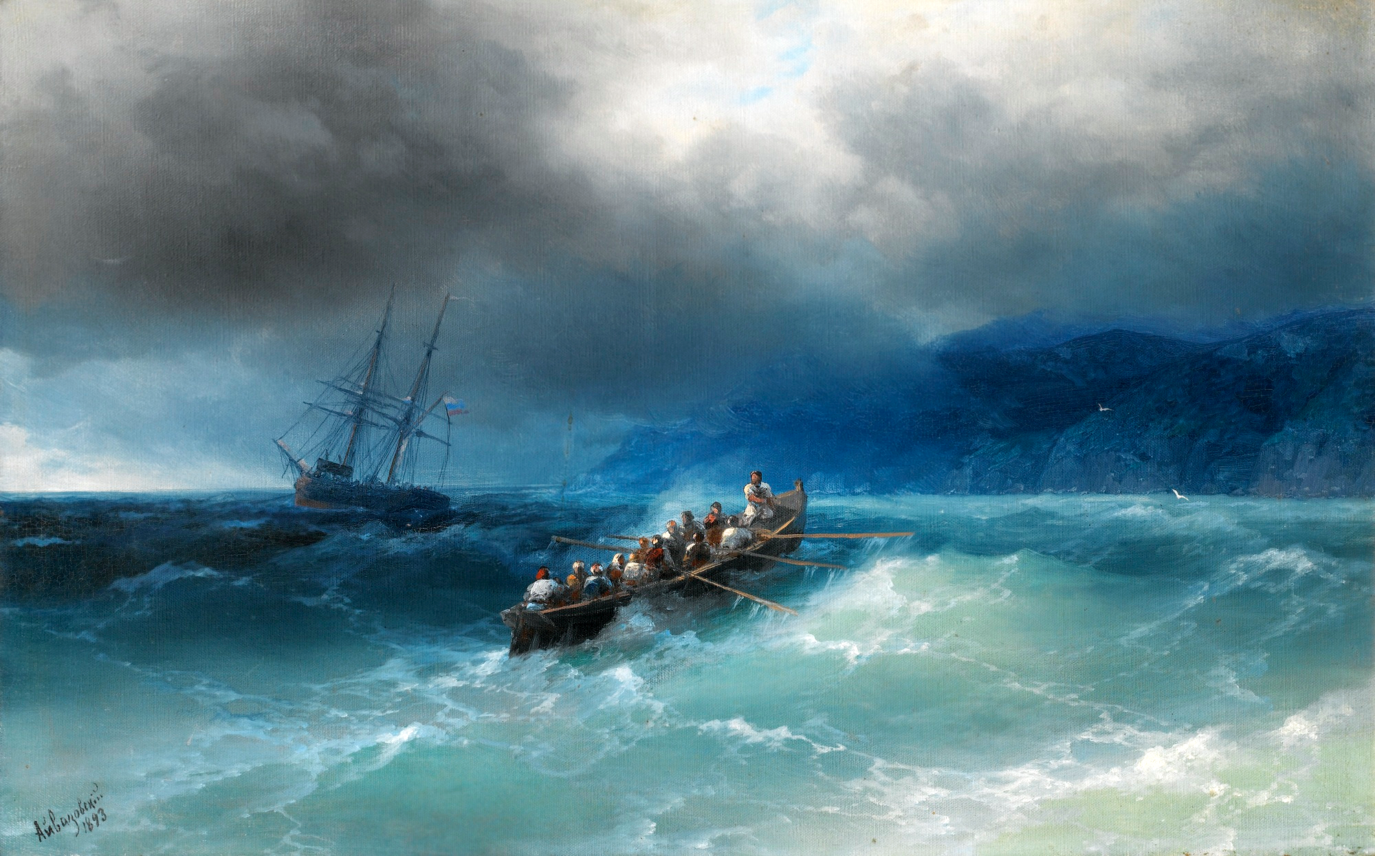 Storm_over_the_Black_Sea_by_Aivazovsky,_1893